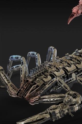 Красивые обои и картинки скорпионов на телефон на заставку 11