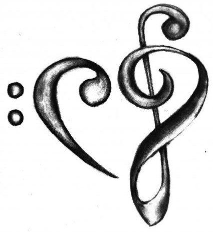 Красивые, прикольные картинки для срисовки Музыка - подборка 8