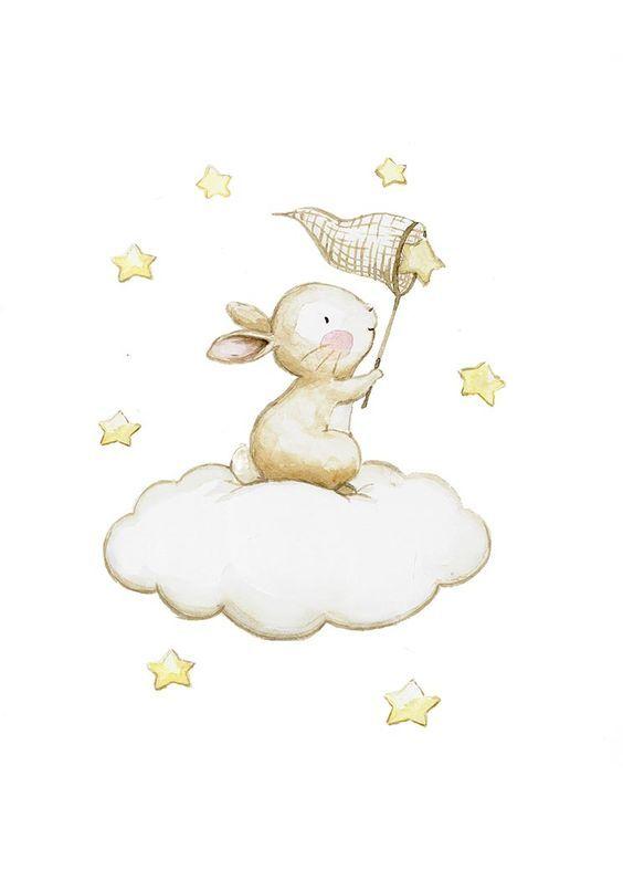 Лучшие картинки для срисовки зайчика, заяц - подборка рисунков 5