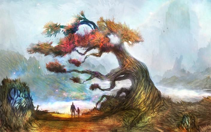 Невероятное и красивое дерево - картинки и изображения 1