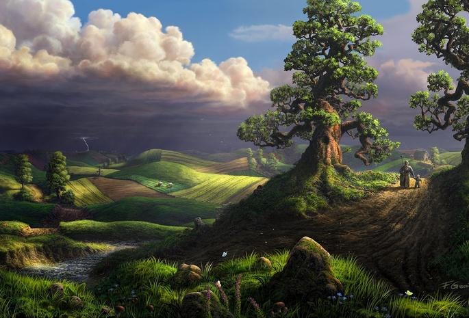 Невероятное и красивое дерево - картинки и изображения 11