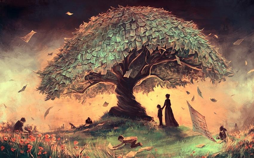 Невероятное и красивое дерево - картинки и изображения 16