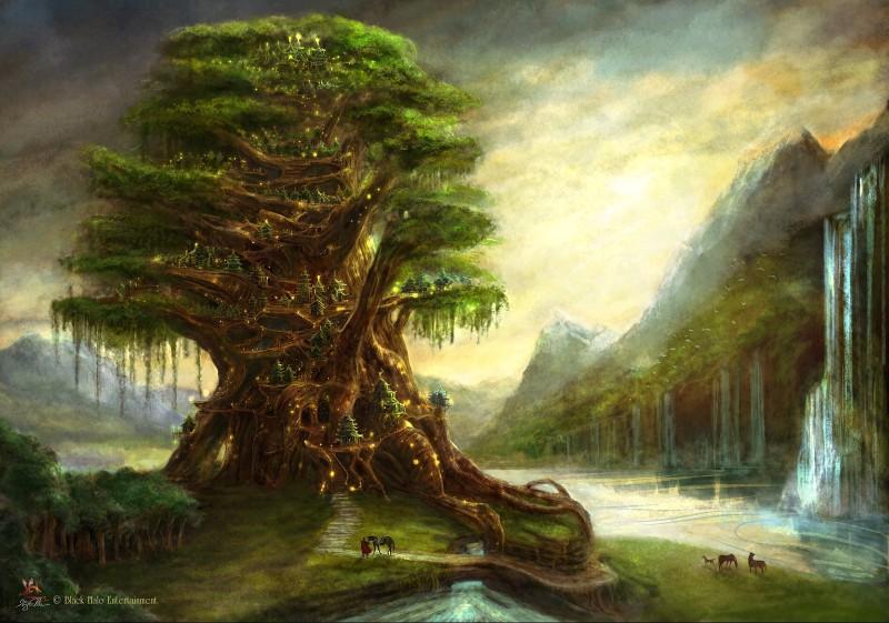 Невероятное и красивое дерево - картинки и изображения 17