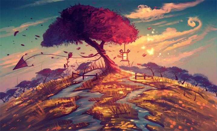 Невероятное и красивое дерево - картинки и изображения 2