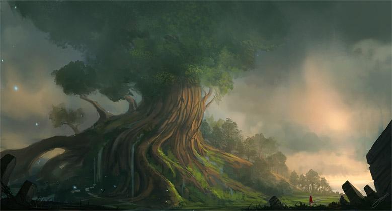 Невероятное и красивое дерево - картинки и изображения 22