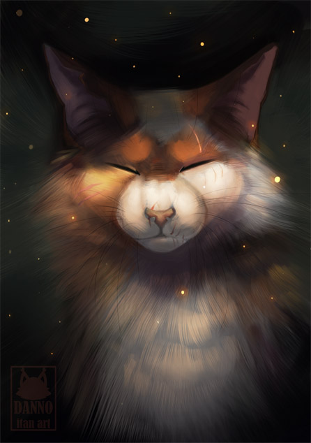 Необычные и красивые картинки Коты Воители - подборка 20 штук 11