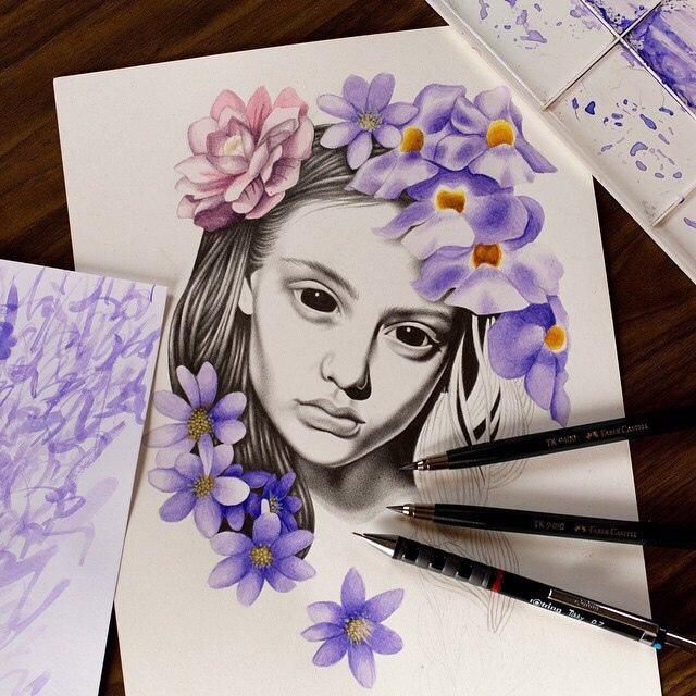 Новые и свежие фотки на аватарку для девушек и девочек - подборка 10