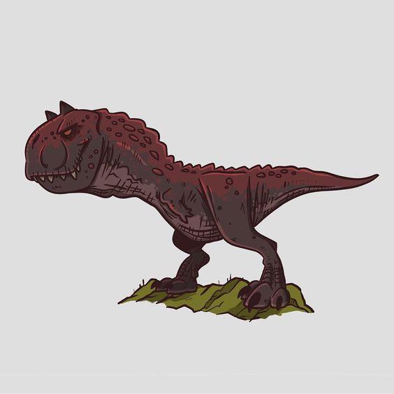 Очень красивые картинки динозавров для срисовки - подборка 12