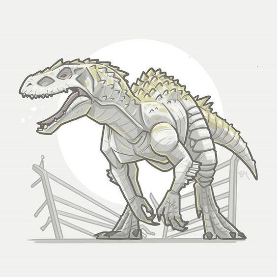 Очень красивые картинки динозавров для срисовки - подборка 20