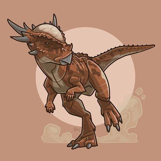 Очень красивые картинки динозавров для срисовки - подборка 5