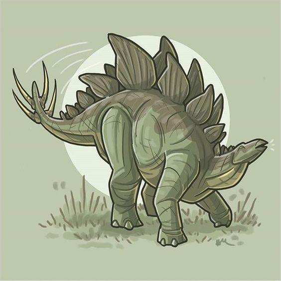 Очень красивые картинки динозавров для срисовки - подборка 6