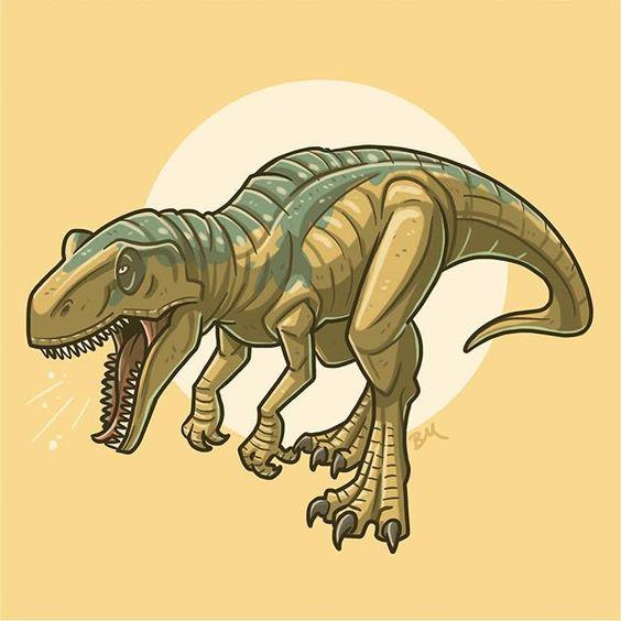 Очень красивые картинки динозавров для срисовки - подборка 7
