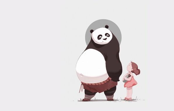 Панды очень красивые и прикольные картинки, арты, фото - подборка 14