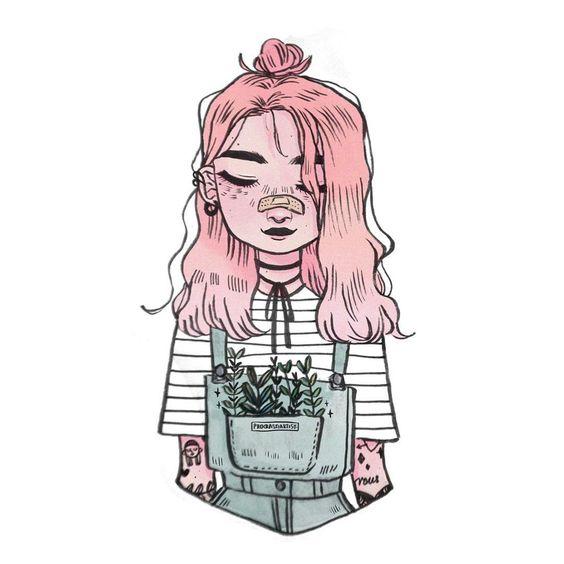 Прикольные и милые картинки, рисунки срисовки для девочек - сборка 15