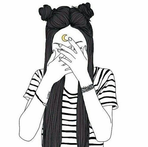 Прикольные и милые картинки, рисунки срисовки для девочек - сборка 16