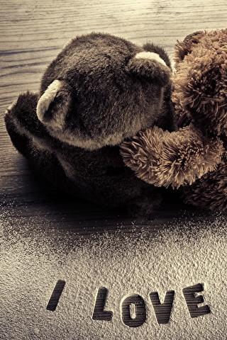 Прикольные картинки на телефон Мишки на заставку - подборка 2