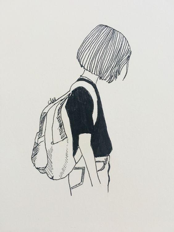 Простые и современные рисунки для срисовки - очень красивые 12