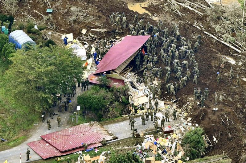 Разрушительное землетрясение в Японии - новости 6