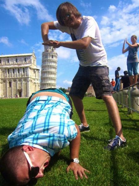 Смешные и веселые картинки про туристов и туризм - подборка 13