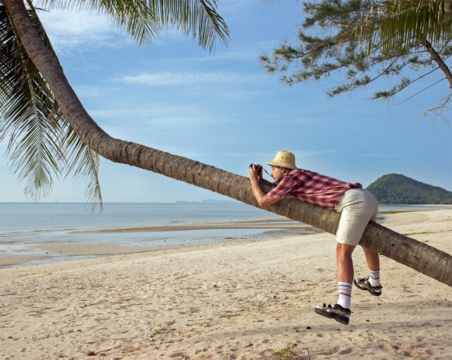 Смешные и веселые картинки про туристов и туризм - подборка 2