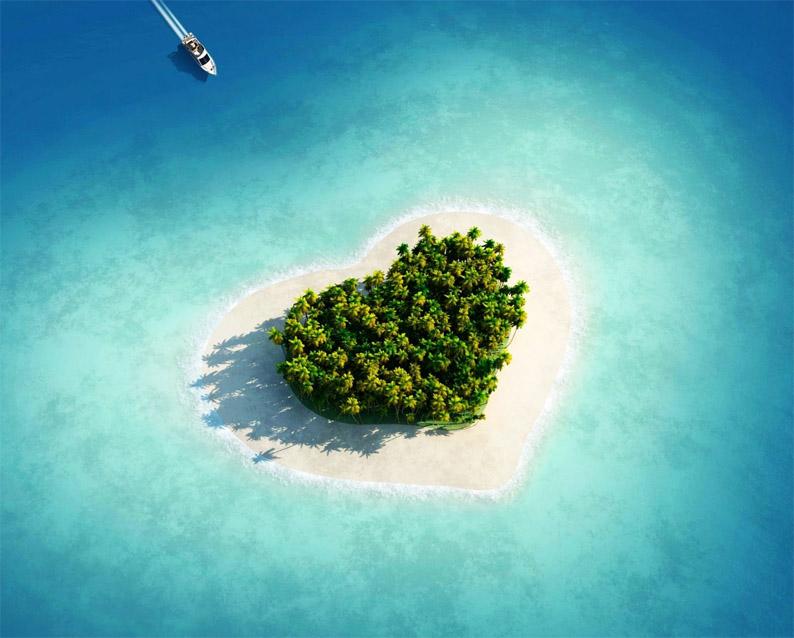 Таинственный и необитаемый остров - удивительные картинки 11