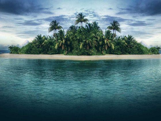 Таинственный и необитаемый остров - удивительные картинки 5