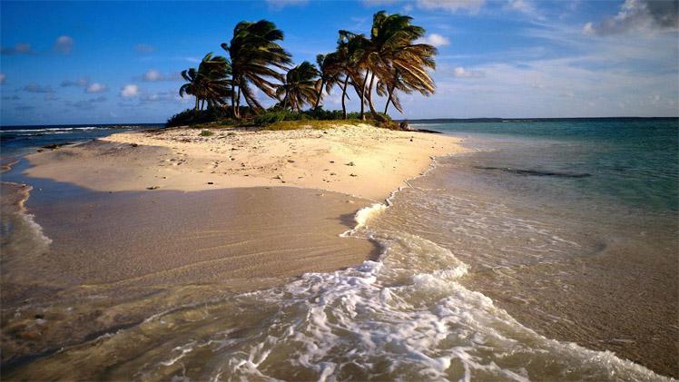 Таинственный и необитаемый остров - удивительные картинки 9