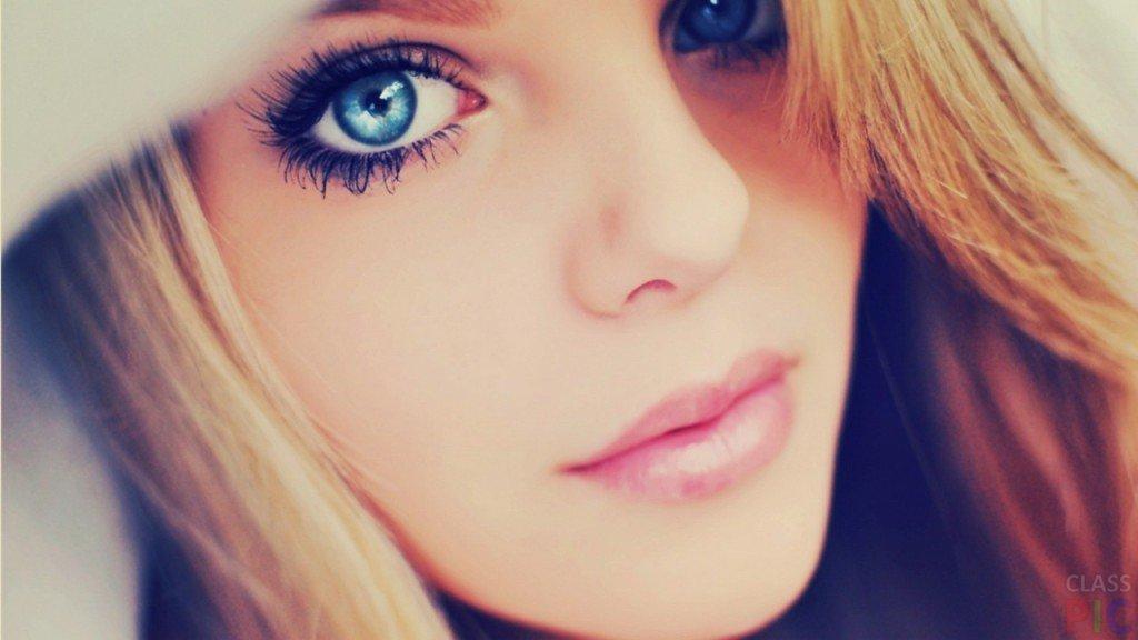Удивительные картинки глаза девушек на аву и аватарку - подборка 10