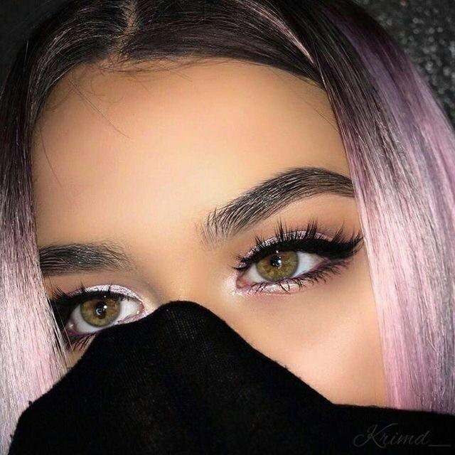 Удивительные картинки глаза девушек на аву и аватарку - подборка 3