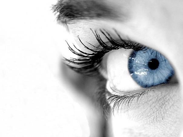 Удивительные картинки глаза девушек на аву и аватарку - подборка 8