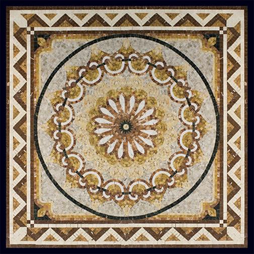 Как изготовить панно из каменной мозаики самостоятельно 4