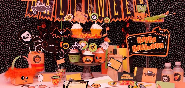 Как отпраздновать Хэллоуин дома Оформление дома и угощения 2