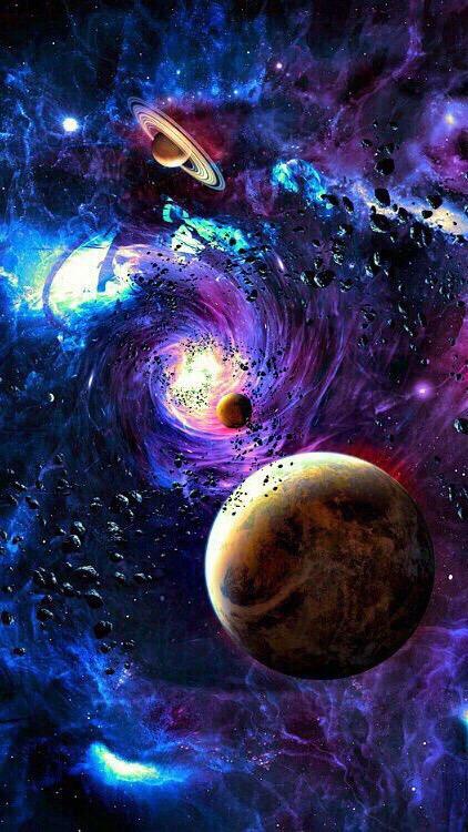 Космос красивые картинки и арты. Подборка ярких изображений 4
