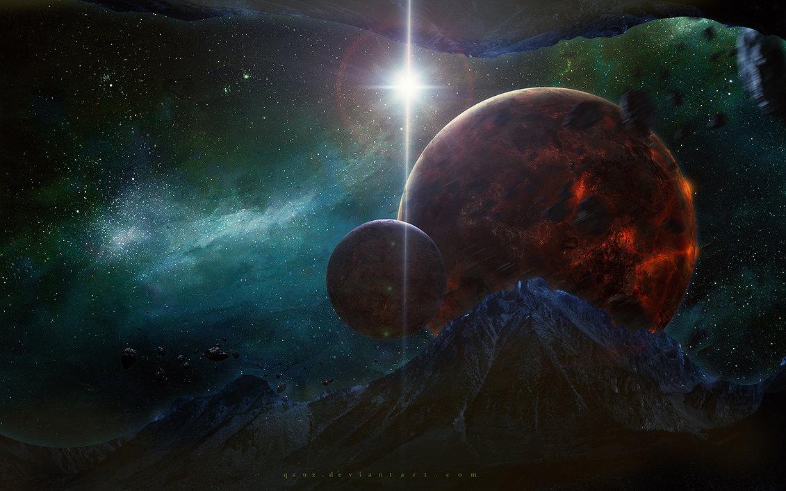 Космос красивые картинки и арты. Подборка ярких изображений 8