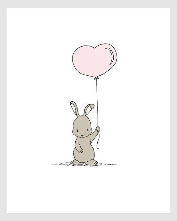Красивые и простые рисунки, картинки кроликов для срисовки - сборка 12