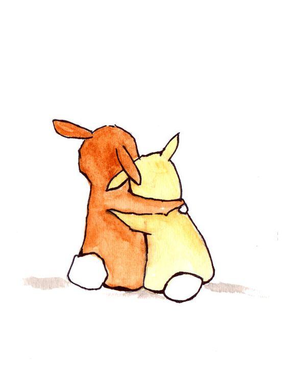 Красивые и простые рисунки, картинки кроликов для срисовки - сборка 16