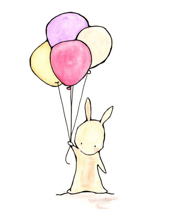 Красивые и простые рисунки, картинки кроликов для срисовки - сборка 7