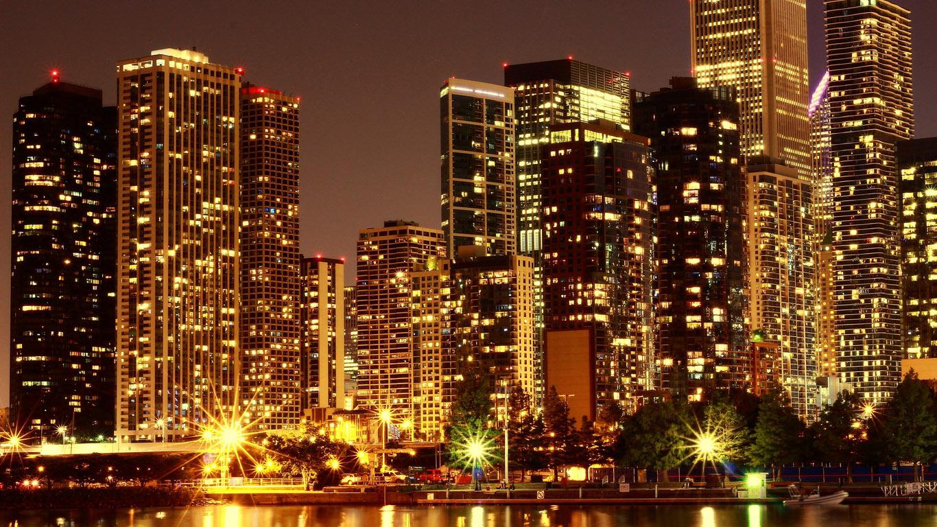 Красивые и удивительные картинки Города на рабочий стол - сборка №7 3