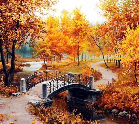 Красивые и удивительные картинки осень в парке - подборка фото 11