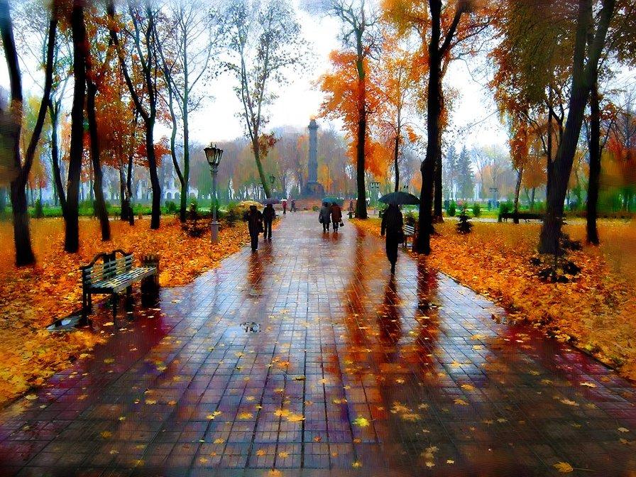 Красивые и удивительные картинки осень в парке - подборка фото 12