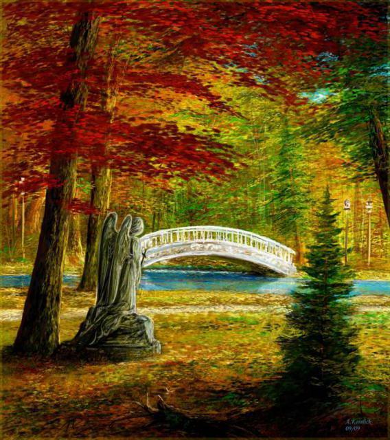 Красивые и удивительные картинки осень в парке - подборка фото 14