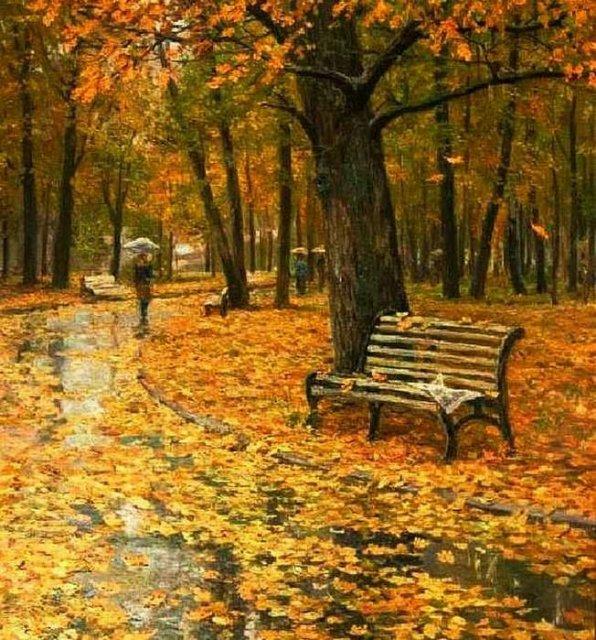 Красивые и удивительные картинки осень в парке - подборка фото 5