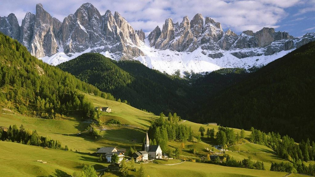 Красивые картинки Альпы. Удивительные фото на рабочий стол 11