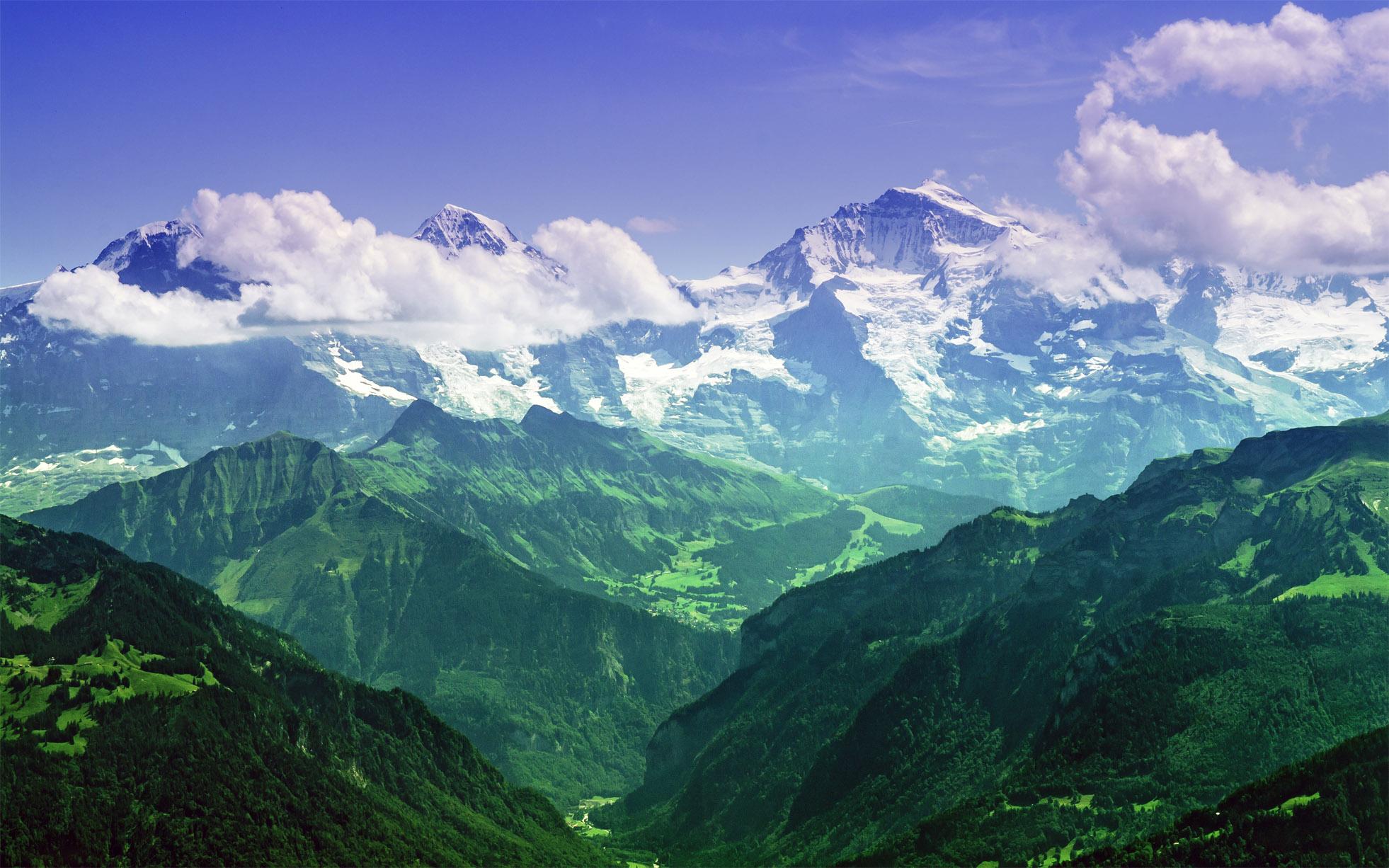 Красивые картинки Альпы. Удивительные фото на рабочий стол 12