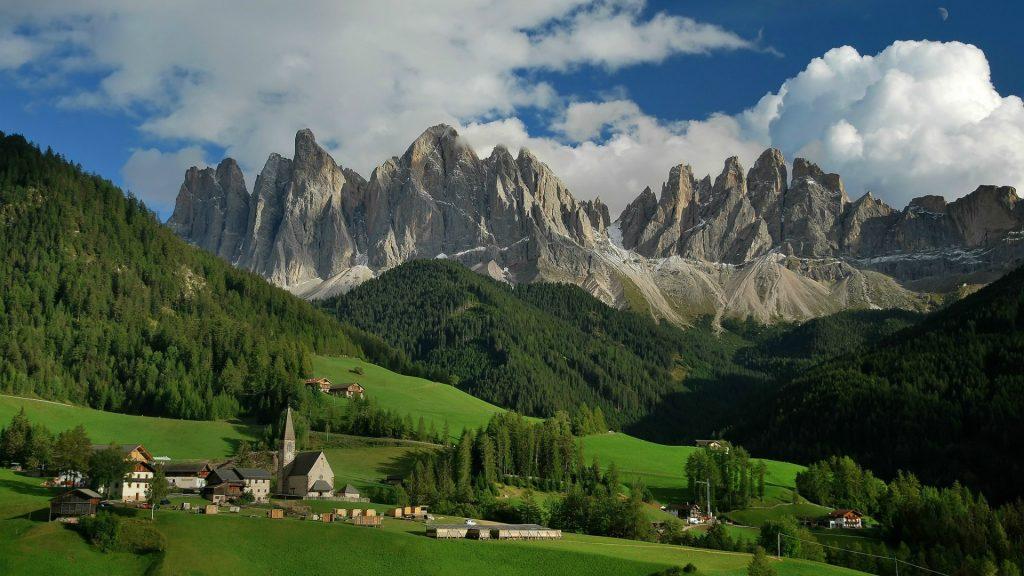 Красивые картинки Альпы. Удивительные фото на рабочий стол 13