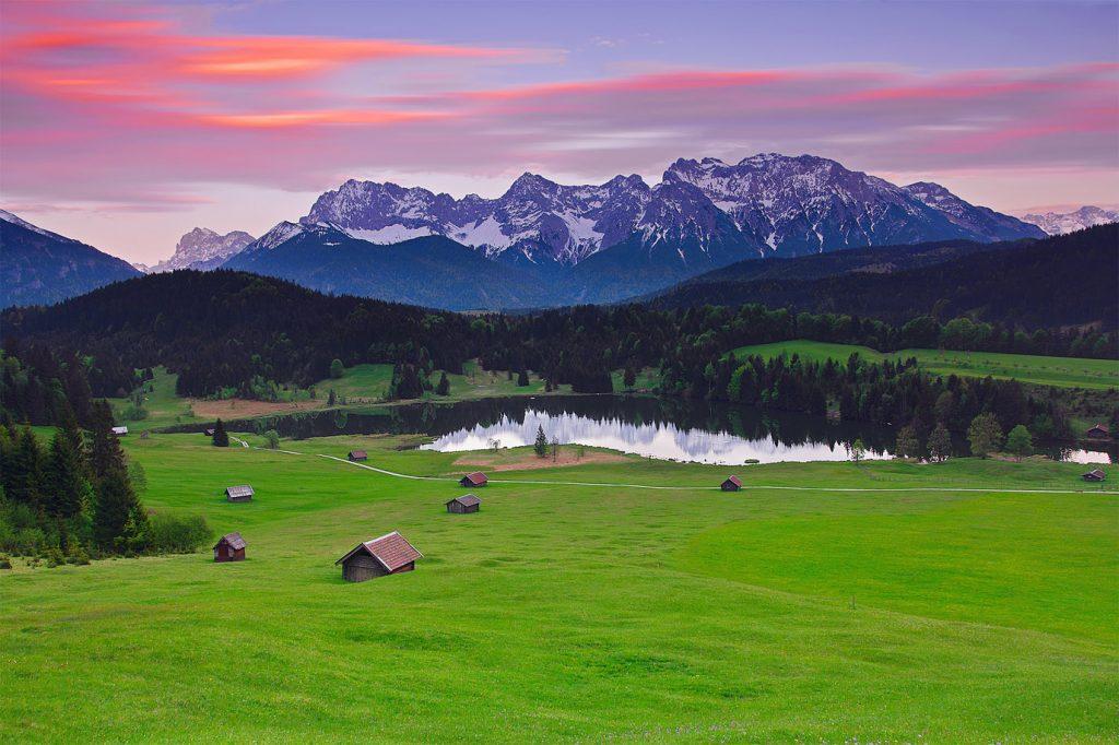 Красивые картинки Альпы. Удивительные фото на рабочий стол 3
