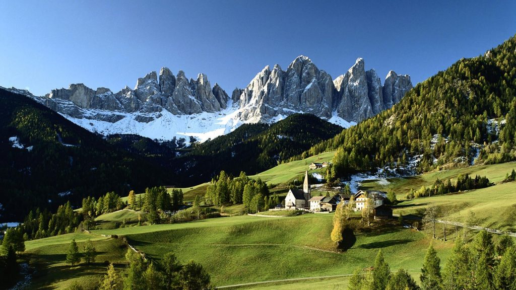 Красивые картинки Альпы. Удивительные фото на рабочий стол 5