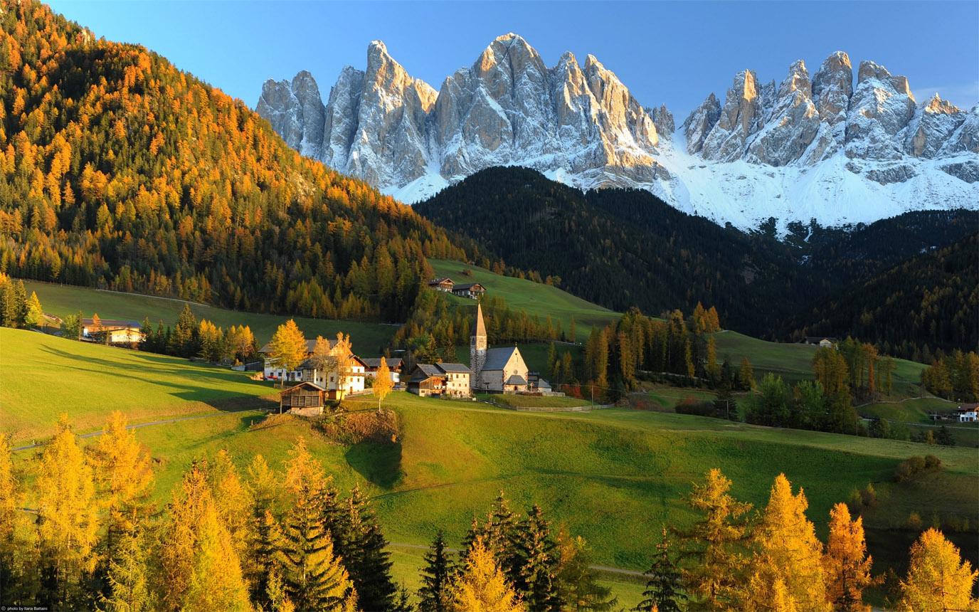 Красивые картинки Альпы. Удивительные фото на рабочий стол 7