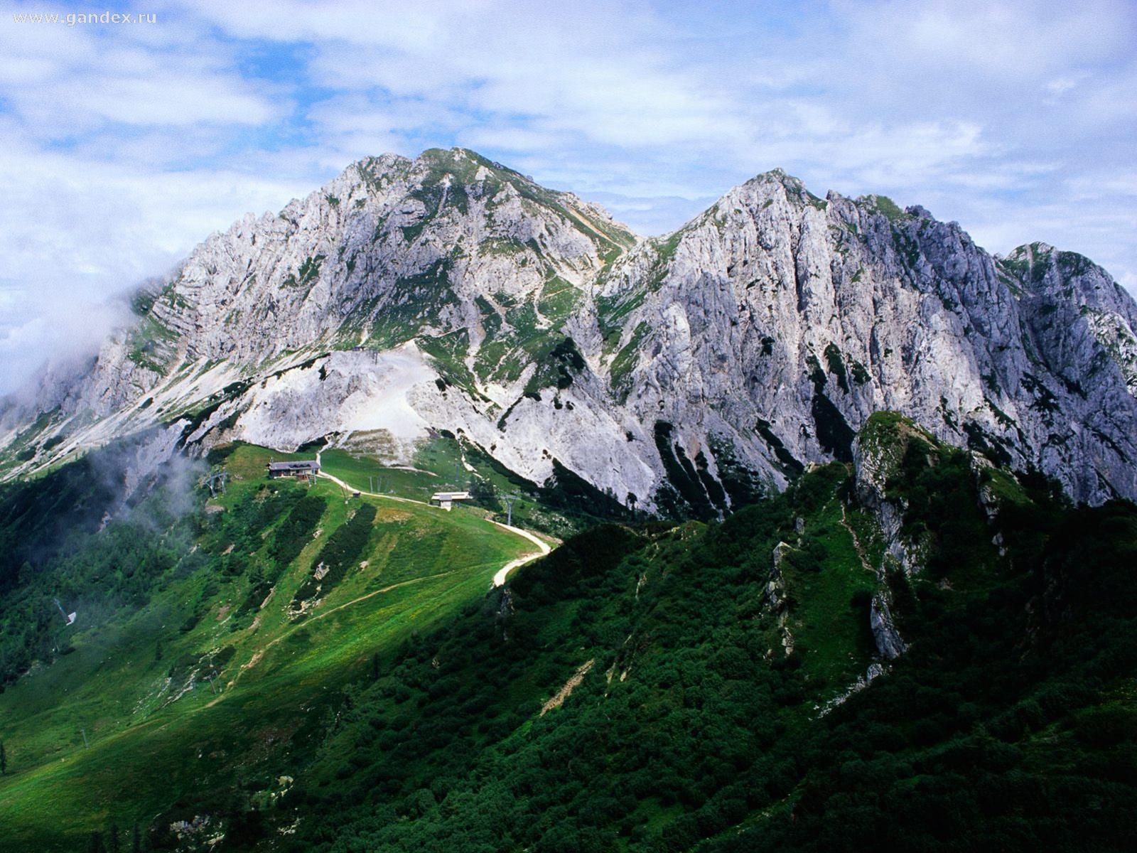 Красивые картинки Альпы. Удивительные фото на рабочий стол 8