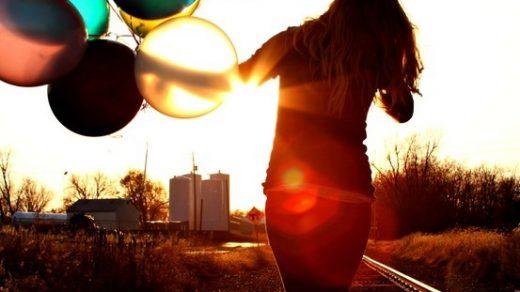 Красивые картинки Воздушные шарики - интересные обои, фото 12